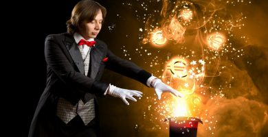 trucos de magia con monedas